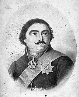 Prince Vakhtang-Almaskhan of Georgia son of Heraclius II of Georgia
