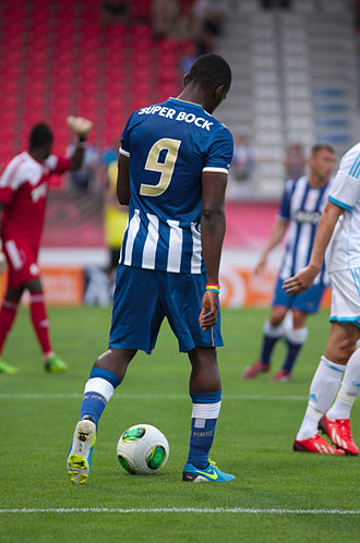 Jackson Martínez - Martínez in match with Porto.