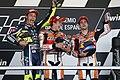 Valentino Rossi, Marc Márquez and Dani Pedrosa 2014 Jerez.jpeg