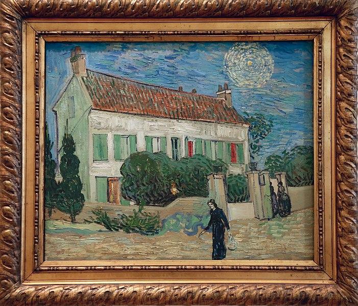 File:Van Gogh. The White House at Night (1890) (26773486753).jpg