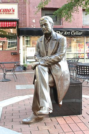 Vardry McBee - Statue of Vardry McBee by T. J. Dixon, Greenville, South Carolina.