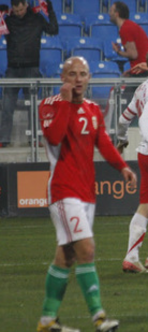 József Varga (footballer, born 1988) - Varga József in a friendly tie against Poland on 15 November 2011