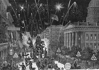 Veiled Prophet Ball - Veiled Prophet Parade, 1878