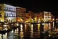Venezia Ponte Rialto Blick auf den Canal Grande bei Nacht 4.jpg