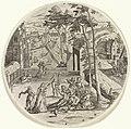Verloren zoon verkwist zijn geld Gelijkenis van de verloren zoon (serietitel), RP-P-1902-A-22419.jpg