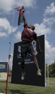 Vertical jump measure of how high an individual or athlete can elevate off the ground from a standstill
