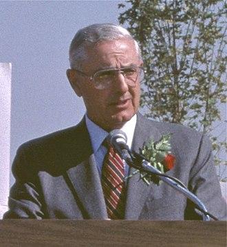 Victor G. Atiyeh - Atiyeh in 1986