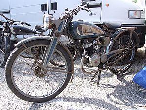 Victoria (motorcycle) - 1939 Victoria V 99 Fix