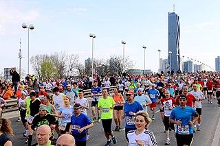 Vienna City Marathon sport competition