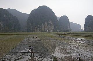 Ninh Bình City in Ninh Binh, Vietnam
