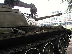Vietnamese T-54A or Type 59, Reunification palace 2.jpg