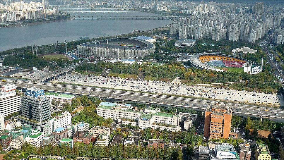 View from COEX Tower