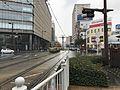 View from platform of Kagoshima-Chuo-Ekimae Station.jpg