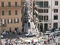 View of the Streets of Rome From Piazza di Spagna (492459526).jpg