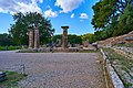 View of the Temple of Hera in Ancient Olympia on October 14, 2020.jpg
