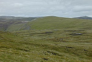 View towards Tom Buidhe from south of Tolmount - geograph.org.uk - 1060828.jpg