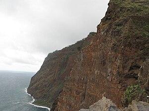 Cabo Girão - The cliff face of Cabo Girão