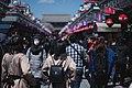 Views in April 2019 around the Buddhist temple Sensō-ji in Asakusa, Tokyo, Japan 05.jpg