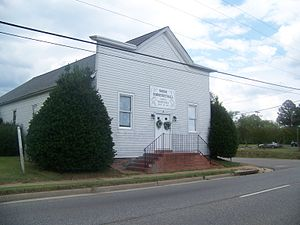 Norge, Virginia - Viking Hall, now Norge Community Hall, early 21st century