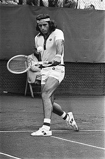 Argentina-Tennis-Vilas (Argentinië) in aktie, Bestanddeelnr 928-0596