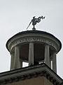 Villa Borghese gennaio casino Orologio torretta e banderuola P1090013.jpg