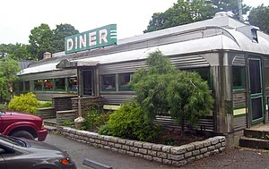 English: Village Diner, Red Hook, NY, USA