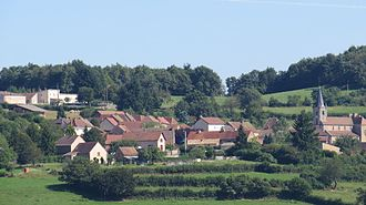 Beaubery - Image: Village de Beaubery