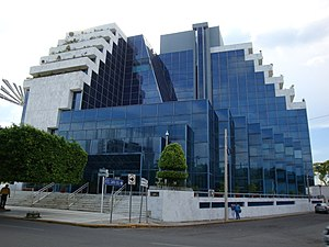 Villahermosa - Regional operations center of Pemex.