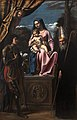 Virgin and Child between St Benedict and St Quentin-Sisto Badalocchio-MBA Lyon A73-IMG 0344.jpg