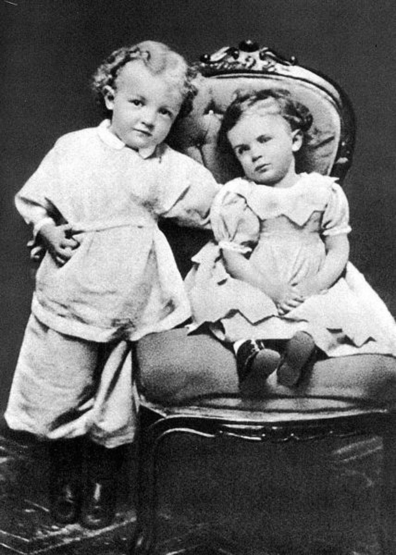 Vladimir Lenin 3 years old