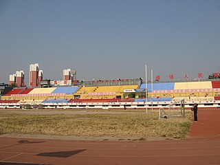 Baoding Peoples Stadium multi-use stadium in Baoding, Hebei province, China