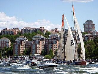 2008–2009 Volvo Ocean Race - Ericsson 3 and Ericsson 4 in Stockholm