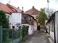 Volyně, Vodičkova zadní strany domů č. p. 90, 420, 91.jpg