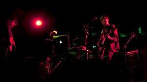 Vondelpark (band) - Image: Vondelpark at the Arches, Glasgow