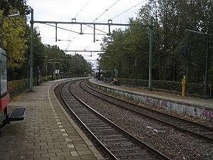 Leidschendam-Voorburg RandstadRail station - Image: Voorburg station leidschendam Voorburg 2