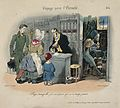 Voyage to eternity; pharmacy scene with Death at work. Wellcome V0011779.jpg
