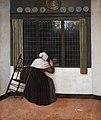 Vrel-Jacob-Femme à la fenêtre-Fondation Custodia.jpg