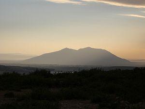 Ichkeul lake - Ichkeul mountain