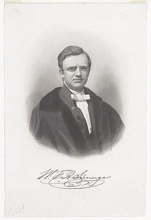 Willem Frederik Reinier Suringar - Willem Frederik Reinier Suringar (1868)