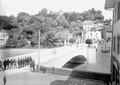 Wachtübernahme auf der Rheinbrücke von Laufenburg - CH-BAR - 3240535.tif