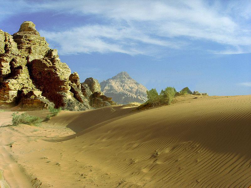 Wadi Ru, - Jordania