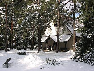 Waldfriedhof Dahlem - Waldfriedhof chapel