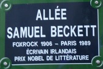 Walk Samuel Beckett, Paris (France) - Philippe Binant Archives
