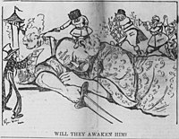 Walker cartoon about the risks of European nations fighting over Asian territory.jpg