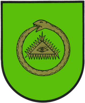 Vert (heraldry) - Image: Wappen Listringen