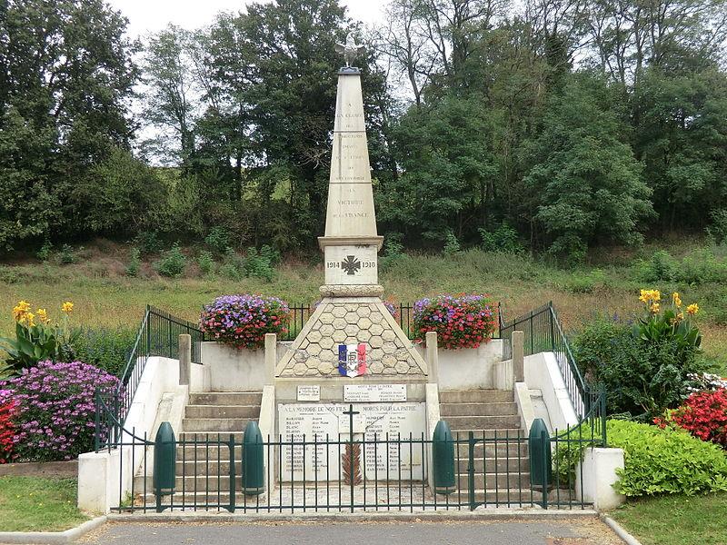 War memorial of Sainte-Croix (Ain).