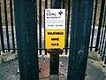 Warning Mine Gas - geograph.org.uk - 305393.jpg