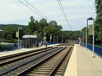 Warren Road station - Warren Road station in 2014