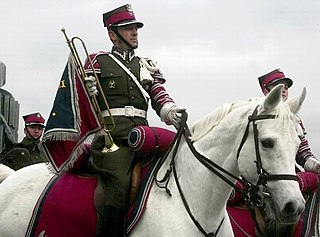 soldiers or warriors fighting from horseback