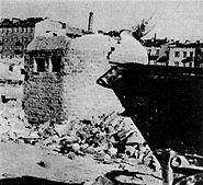 Warsaw Uprising - Gęsiówka Bunker